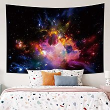 Tapestry Galaxy Cloud Hanging Wall Tapestry Hippie