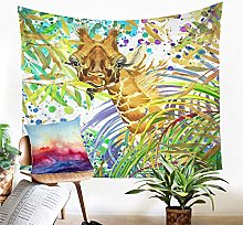 Tapestry Giraffes Tapestry Wall Hanging Sand Mat