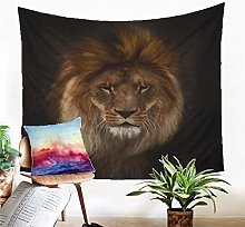 Tapestry Lion Tapestry Wall Hanging Sand Mat Beach