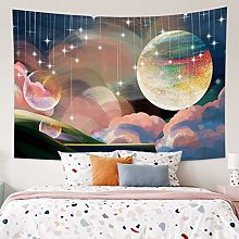 Tapestry Psychedelic Tapestry Wall Hanging Galaxy
