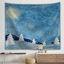 Tapestry Snow Decor Tapestry Wall Hanging Tapestry