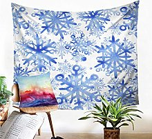 Tapestry Snowflake Sand Beach Wall Hanging