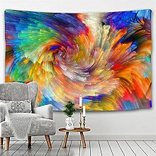 Tapestry Wall Hanging Abstract colorful clouds