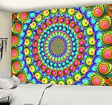 Tapestry Wall Hanging Decor Colorful Mandala