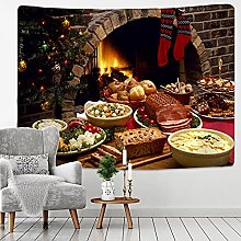 Tapestry Wall Hanging Decor Fireplace tapestry