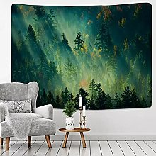 Tapestry Wall Hanging Decor Forest Under Sun
