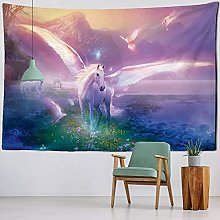 Tapestry Wall Hanging Decor Horse Decoration