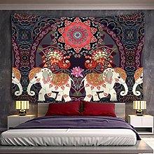 Tapestry Wall Hanging Decor Mandala Elephant