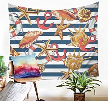 Tapestry Wall Hanging Starfish Tapestry Sand Mat