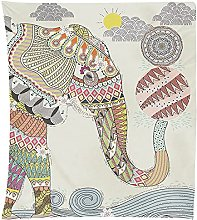 Tapestry Wall Hangings Cute Animal Print Tapestry