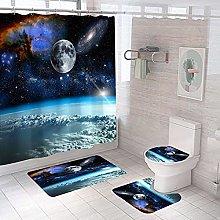 Tapis antidérapant pour abattant WC et tapis bain