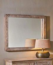 Tariku Mango Wood Mirror - Large