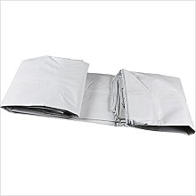 TARPAULIN White Rainproof Cloth Tarpaulin Sun