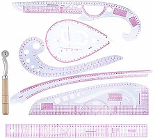 TARTIERY 7 Style Plastic Curve Metric Sewing Ruler