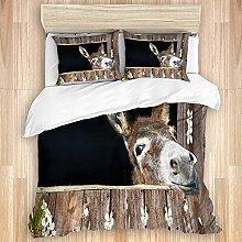 TARTINY Donkey Animal Lover Cute Funny Donkey,Flat
