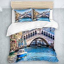 TARTINY Famous Old Town Canal Venice Italy,Terrace