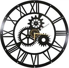 Taryn 50cm Silent Wall Clock Borough Wharf