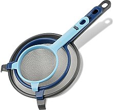Tasty Sieve Set, Wire Mesh Sieves with Long