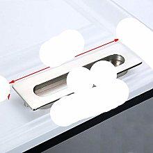 Tatami Hidden Door Handles Zinc Alloy Recessed