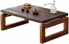 Tatami Low Table Home Solid Wood Folding Table