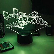 Tatapai 3D Illusion Lamp Led Night Light A-10