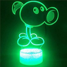 Tatapai 3D Illusion Lamp Led Night Light Control