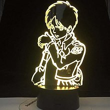 Tatapai 3D Illusion Lamp Led Night Light Eren