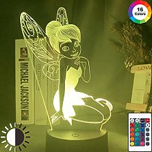 Tatapai 3D Illusion Lamp Led Night Light Fairy