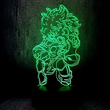 Tatapai 3D Illusion Lamp Led Night Light My Hero
