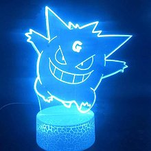Tatapai 3D Illusion Lamp Led Night Light Visual