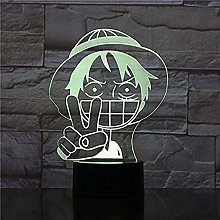 Tatapai 3D Lamp with Atmosphere Color Changing