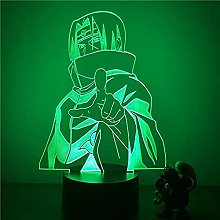 Tatapai 3D LED Night Light Uchiha Itachi Action