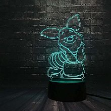 Tatapai 3D Visual Lamp Optical Illusion Cartoon