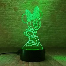 Tatapai Cartoon Glowing Girls Mickey Minnie Mice