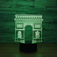 Tatapai Colorful Creative 3D USB Atmosphere Decor
