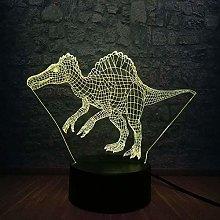 Tatapai Dinosaur Park 3D Night Light Atmosphere