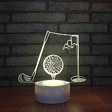 Tatapai Festival Bedside Lighting 3D Led Acrylic