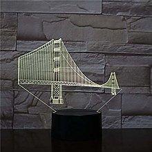 Tatapai Golden Gate Bridge USB 3D led Night Light