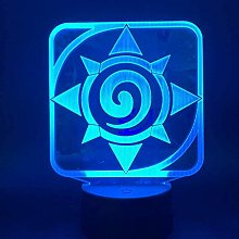 Tatapai Hearthstone 3D Led Night Light Lamp