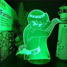 Tatapai Naruto Rock Lee 3D LED Anime Night Lights