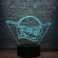 Tatapai Swimming Desk Lamp & 3D LED Night Light