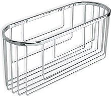 Tatay 6606500 Krom Oval Storage Basket, Silver,