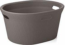 TATAY Baobab Laundry Basket 35 litros dark