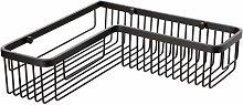 TATAY Black basket, in matt black anodised