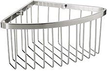 TATAY Corner Storage Basket, Aluminum, Silver, One