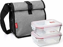 TATAY Food Carrier with Tapers Mediano Grey Denim