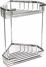 TATAY Krom Double Corner Storage Basket, 200 x 150