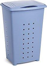 TATAY Linen Basket Millenium, Polypropylene, Blue,