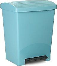 TATAY Optimist Pedal Dustbin, 25 L, Blue, One Size
