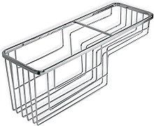 TATAY Rectangular Krom basket, two levels,